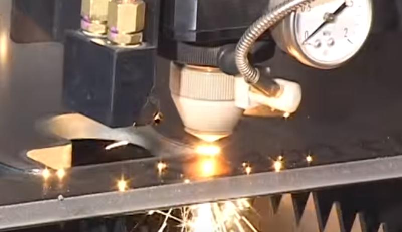 Taiere laser Mazak