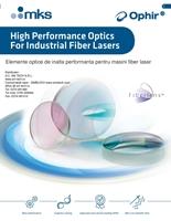 catalog Ophir Optronics sticle protectie fiber laser